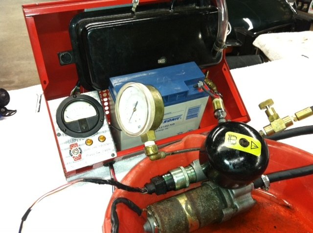 Test Abs Pump Aculator And Switch Range Rover All